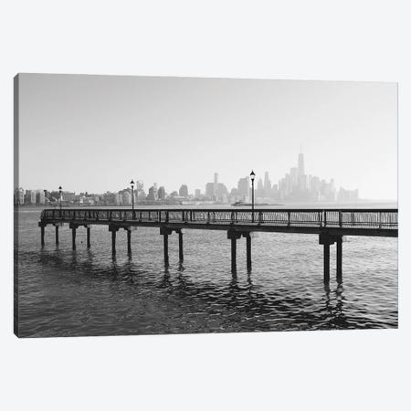 Hoboken Bridge Canvas Print #GGV52} by A Carousel Wandering Canvas Print