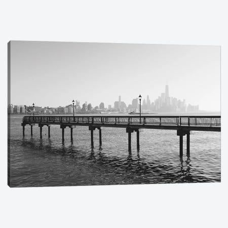 Hoboken Bridge Canvas Print #GGV52} by A Carousel Wandering Canvas Print