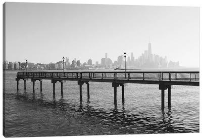 Hoboken Bridge Canvas Art Print