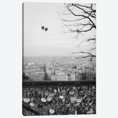 Love Balloons Canvas Print #GGV55} by A Carousel Wandering Canvas Artwork