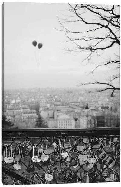 Love Balloons Canvas Art Print