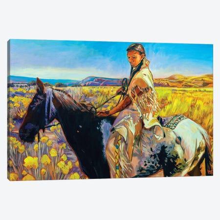 Last Sun Canvas Print #GHE23} by Greg Heil Canvas Print