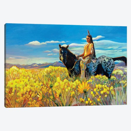 New Mexico Gold Canvas Print #GHE27} by Greg Heil Canvas Artwork