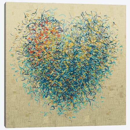 The Loving Optimist I Canvas Print #GHL11} by George Hall Canvas Art Print
