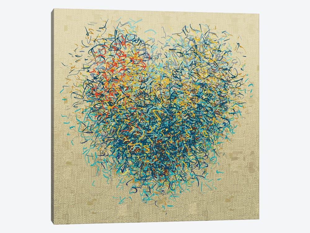 The Loving Optimist I by George Hall 1-piece Canvas Art