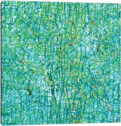 Sienna Trees Canvas Art Print