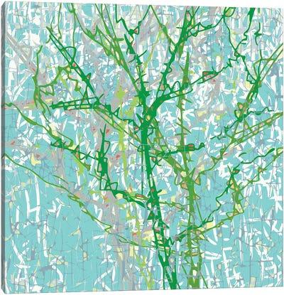 Bg Trees Canvas Art Print