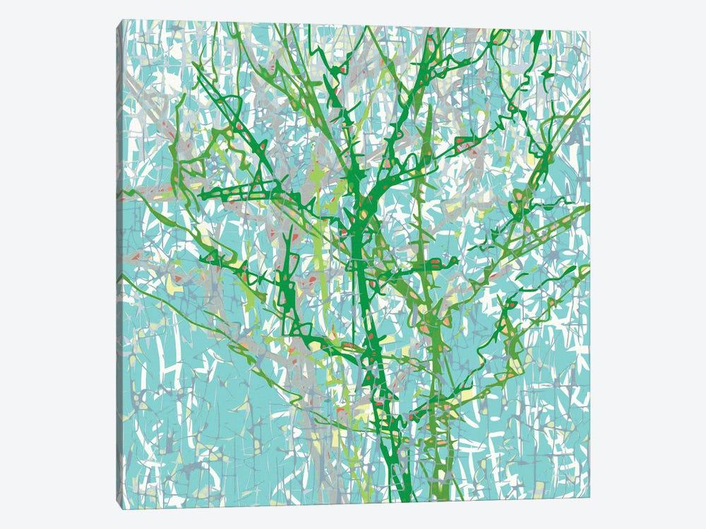 Bg Trees by George Hall 1-piece Canvas Art