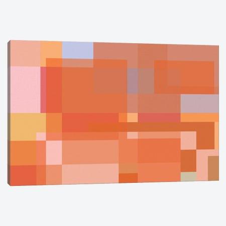 Orange City Canvas Print #GHL53} by George Hall Canvas Art Print