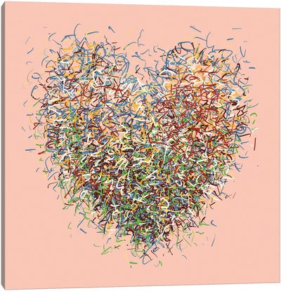 The Love Optimist Canvas Art Print