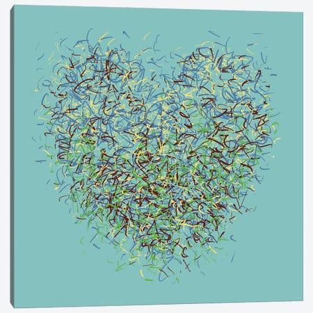 The Angel Optimist Canvas Print #GHL86} by George Hall Canvas Art Print