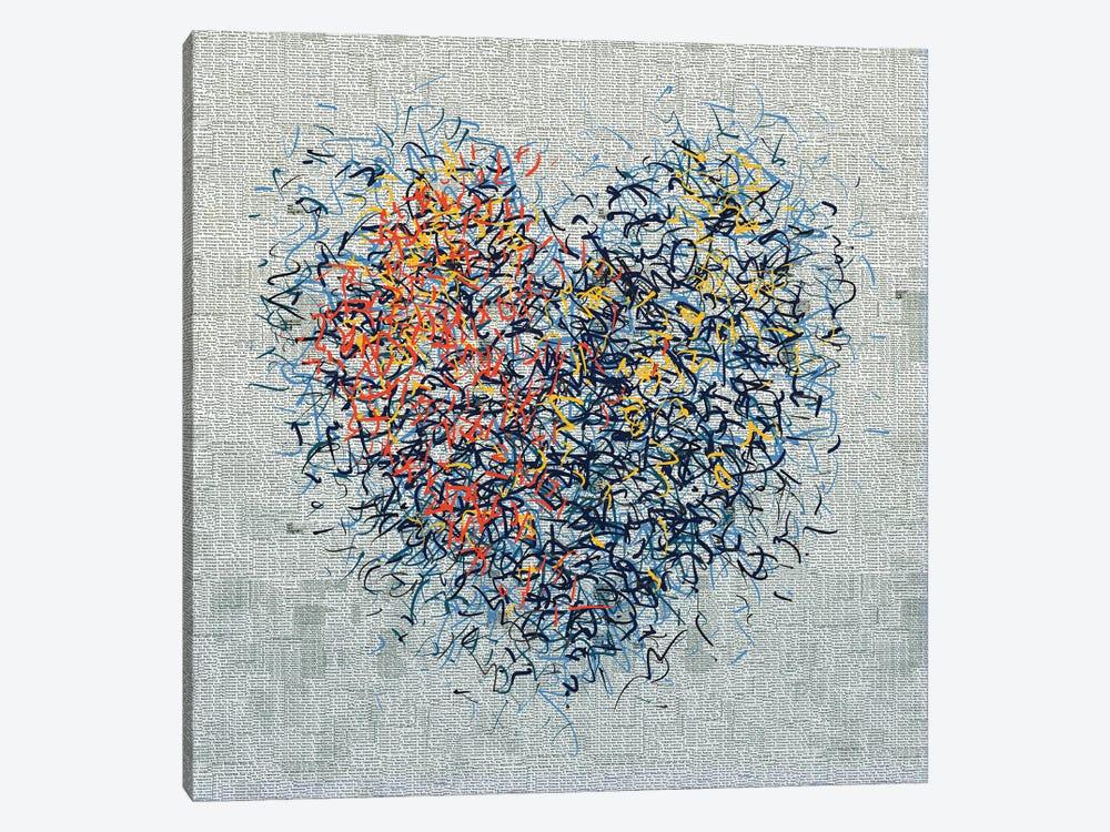 The Optimist Heart I by George Hall 1-piece Canvas Artwork