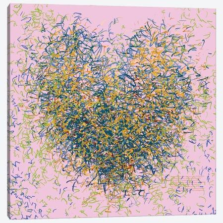 The Grateful Optimist Canvas Print #GHL9} by George Hall Canvas Art