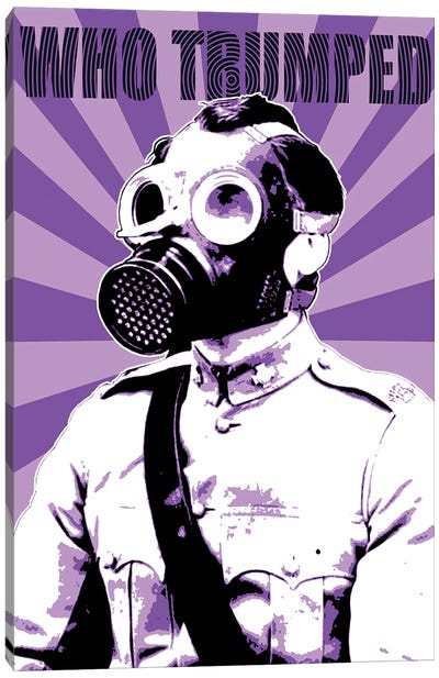 Who Trumped - Purple Canvas Art Print