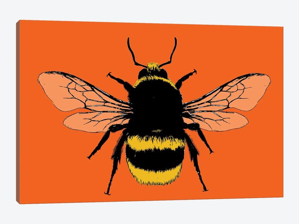 Bee Mine - Orange by Gary Hogben 1-piece Canvas Artwork