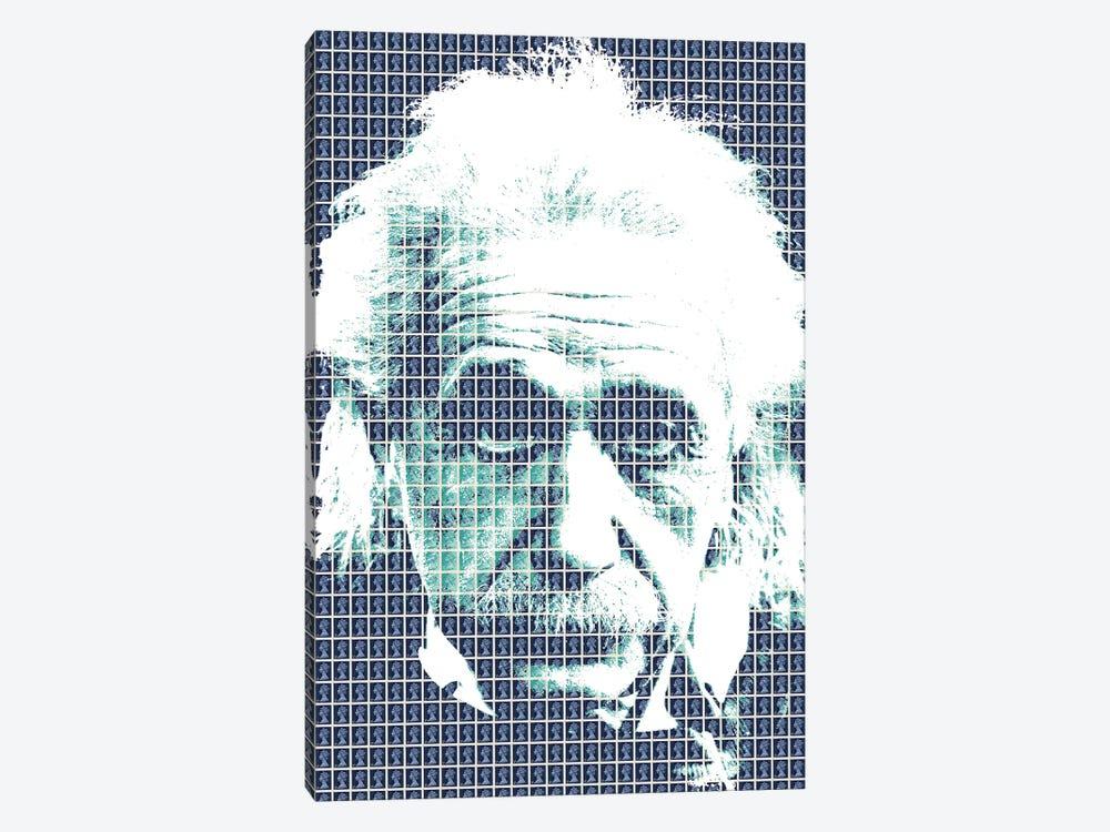Einstein Blue by Gary Hogben 1-piece Canvas Print