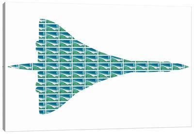 Concorde Canvas Art Print