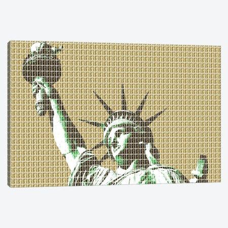 Liberty - Gold Canvas Print #GHO128} by Gary Hogben Canvas Art Print