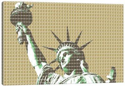 Liberty - Gold Canvas Art Print