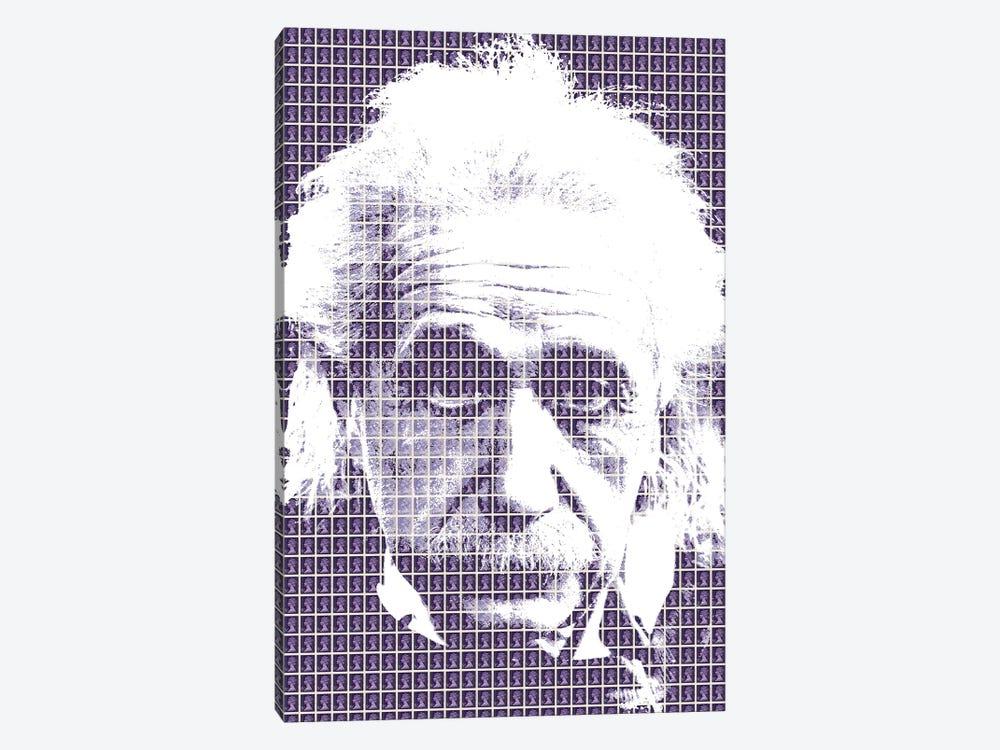 Einstein Purple by Gary Hogben 1-piece Art Print