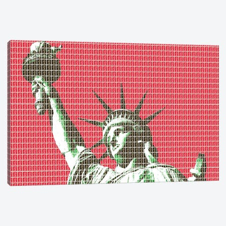 Liberty - Red Canvas Print #GHO132} by Gary Hogben Canvas Artwork