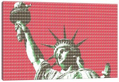 Liberty - Red Canvas Art Print