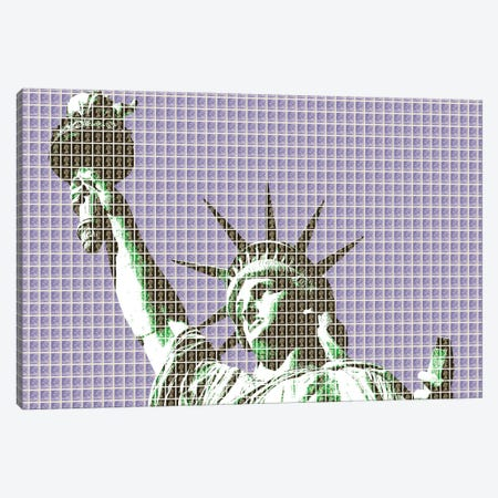 Liberty - Violet Canvas Print #GHO133} by Gary Hogben Canvas Artwork