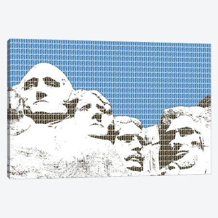 Rushmore - Blue Canvas Print #GHO137} by Gary Hogben Canvas Art Print