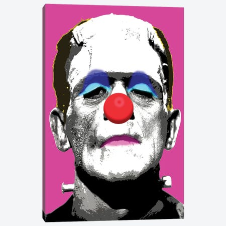 Frankie Boo - Pink Canvas Print #GHO24} by Gary Hogben Canvas Art