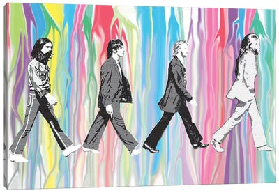 Beatles - Abbey Road Canvas Art Print