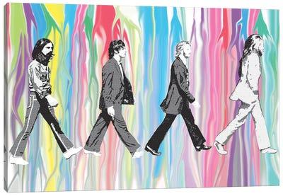 Beatles - Abbey Road Canvas Art Print