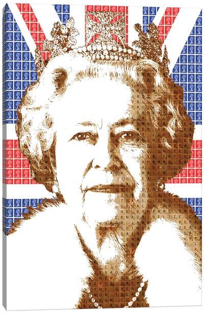 Liz - Flag Canvas Art Print