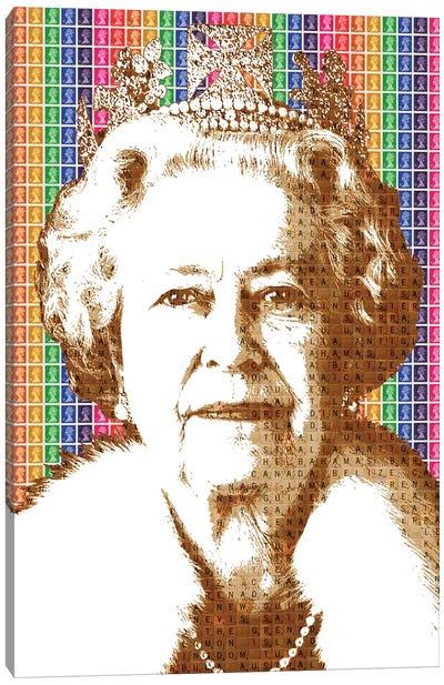 Liz - Rainbow Canvas Art Print