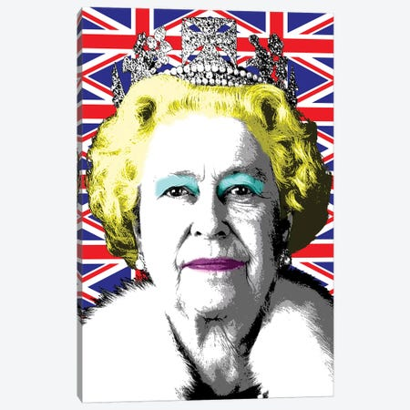 Liz Flag Canvas Print #GHO42} by Gary Hogben Canvas Print