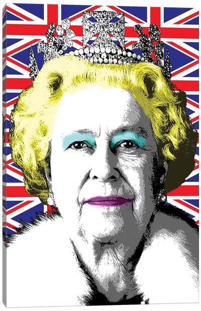 Liz Flag Canvas Art Print