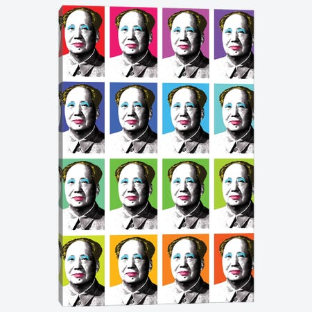 Marilyn Mao X 16 Canvas Print #GHO46} by Gary Hogben Canvas Wall Art