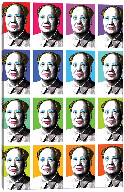 Marilyn Mao X 16 Canvas Art Print