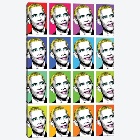 Marilyn Obama X 16 Canvas Print #GHO47} by Gary Hogben Canvas Artwork