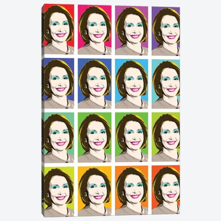 Marilyn Pelosi X 16 Canvas Print #GHO48} by Gary Hogben Canvas Print