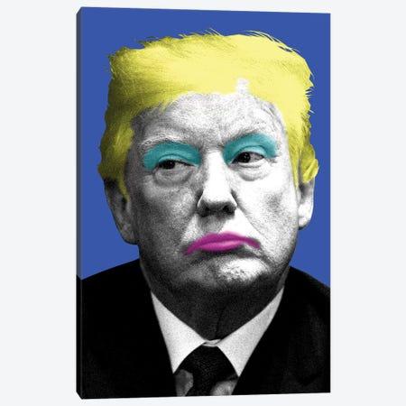 Marilyn Trump - Blue Canvas Print #GHO49} by Gary Hogben Canvas Print