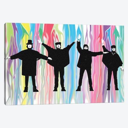 Beatles Help Canvas Print #GHO4} by Gary Hogben Canvas Art