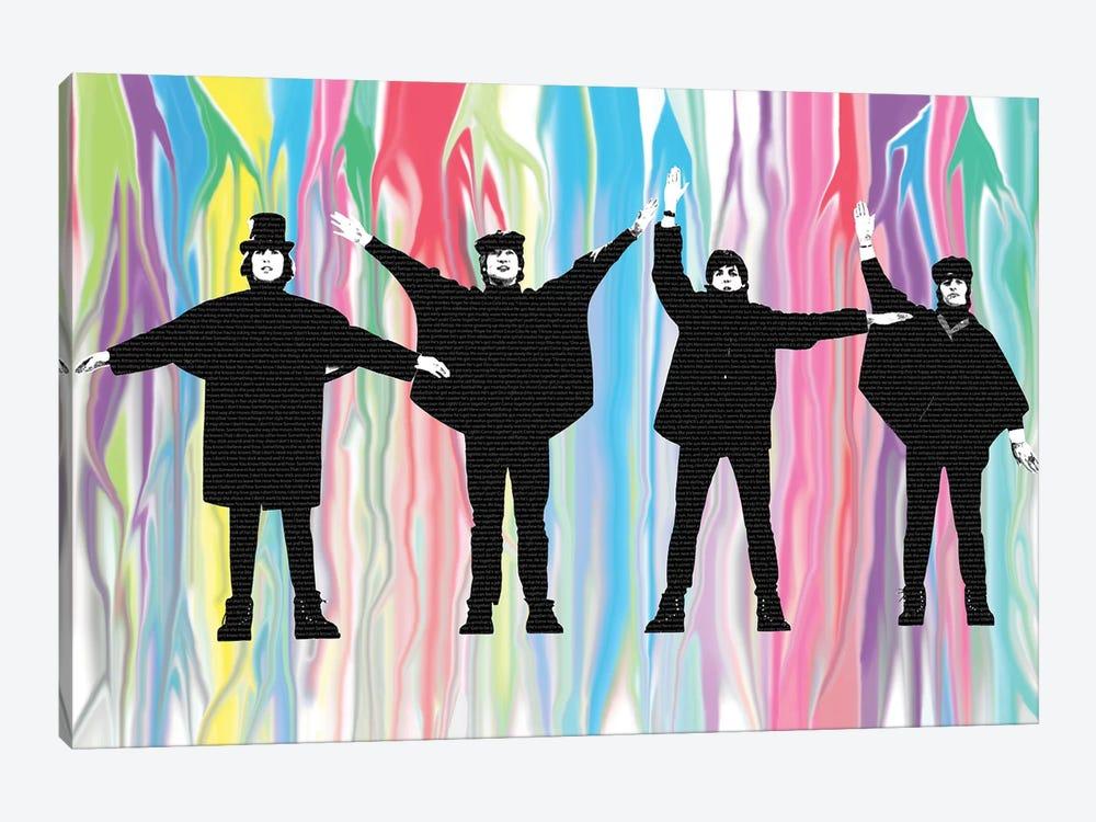 Beatles Help by Gary Hogben 1-piece Art Print