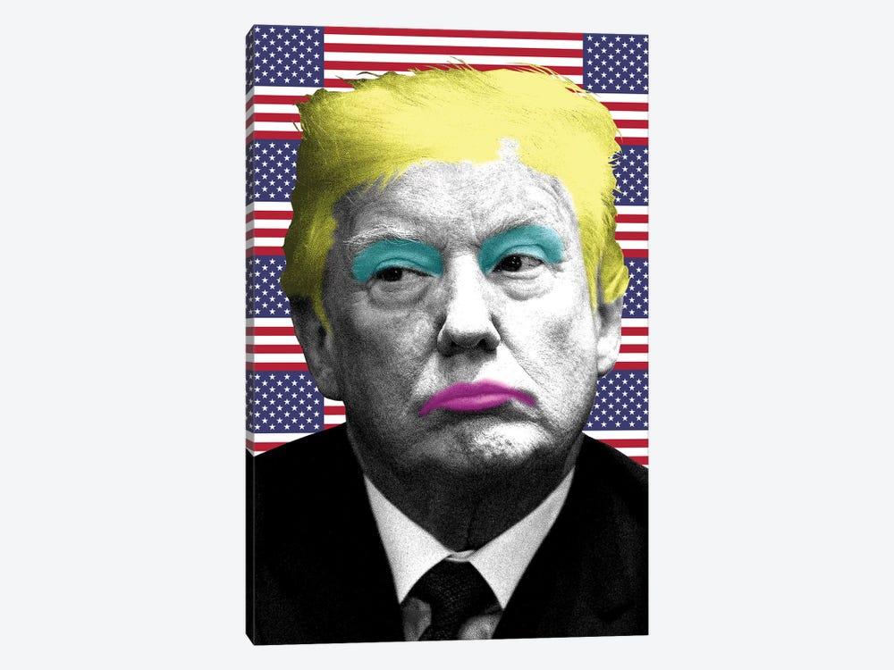 Marilyn Trump - Flag by Gary Hogben 1-piece Canvas Art Print