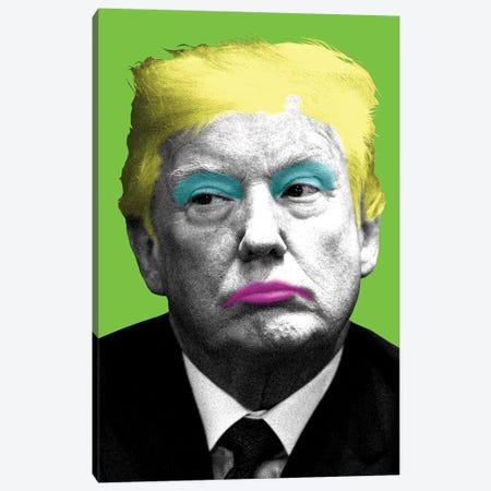 Marilyn Trump - Lime Canvas Print #GHO51} by Gary Hogben Canvas Wall Art