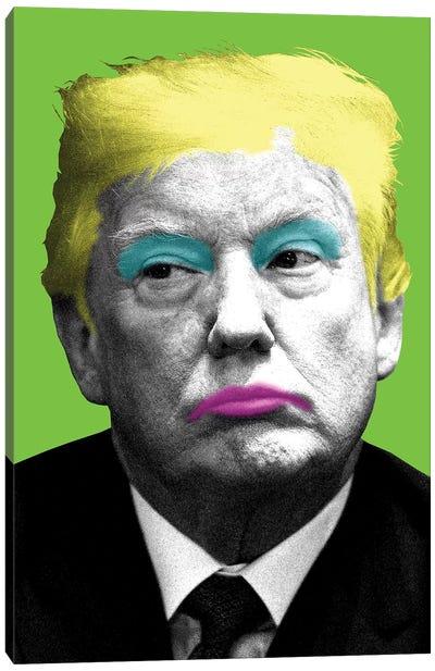 Marilyn Trump - Lime Canvas Art Print