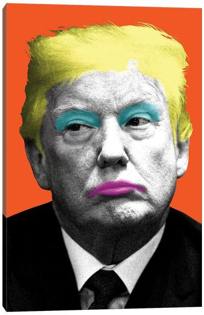 Marilyn Trump - Orange Canvas Art Print