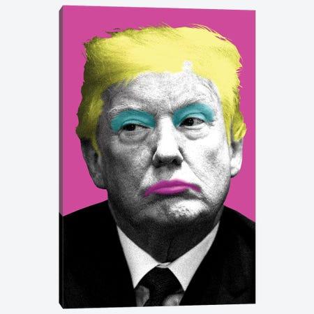 Marilyn Trump - Pink Canvas Print #GHO53} by Gary Hogben Canvas Wall Art