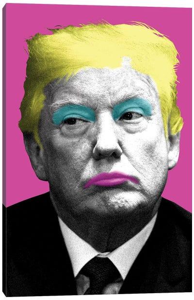 Marilyn Trump - Pink Canvas Art Print