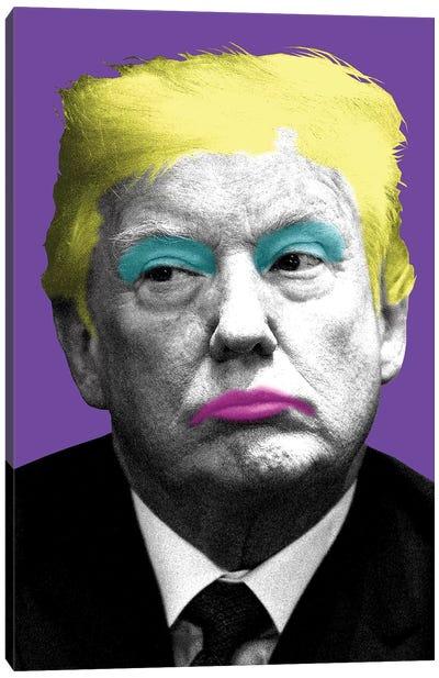 Marilyn Trump - Purple Canvas Art Print