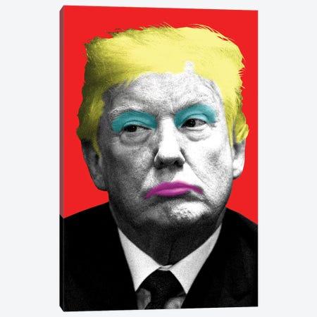 Marilyn Trump - Red Canvas Print #GHO55} by Gary Hogben Canvas Print